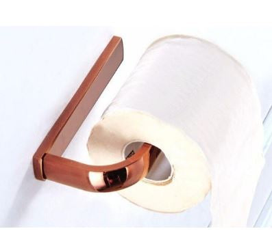 Rose Gold Toilet Roll Holder #201911