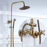 Brass Vintage Full Bathroom Set #201889