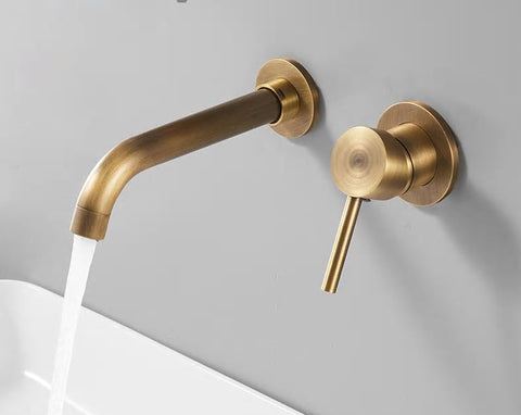 Brass Modern Basin Mixer #201769