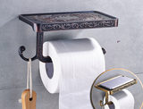 Oil Rubbed Black Toilet Roll Holder #201811