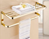 Gold Bath Towel Rack #201924