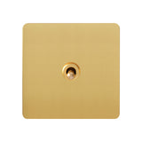 Antique Gold 1 Gang Toggle Wall Switch