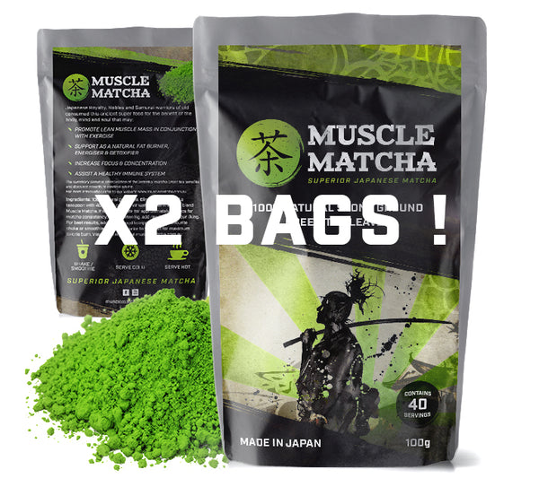 COMBO DEAL - MUSCLE MATCHA