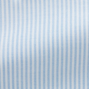 Maßhemd Oxford Blue Stripes Stripes von Thomas Mason