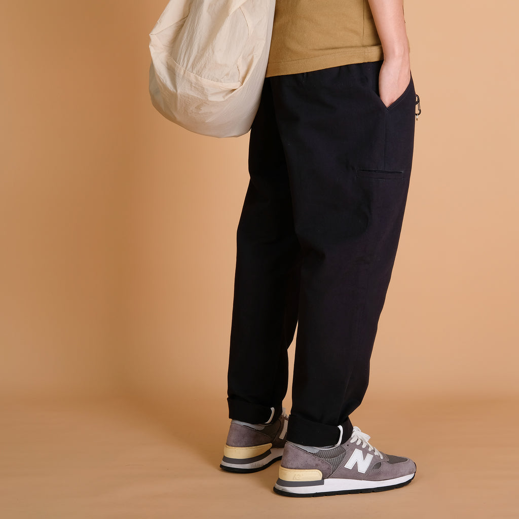 Pleated Pants - Black