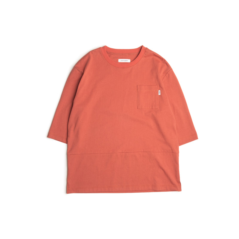 3/4 Sleeves Tee - red