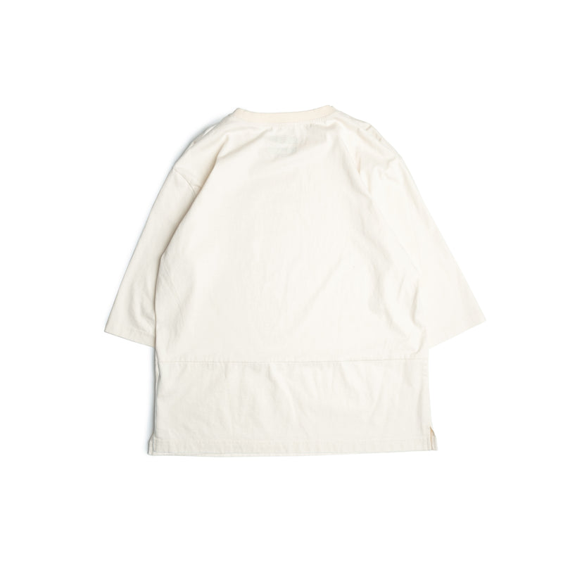 3/4 Sleeves Tee - cream