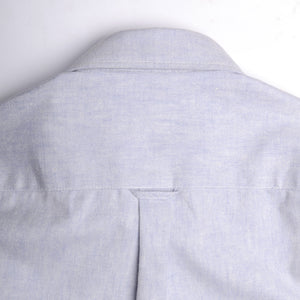 Washed Oxford Shirt - blue