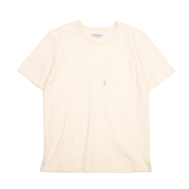 Pockets Tee - cream