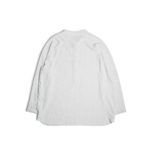 LS Striped Shirt - white