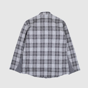 Mandarin Collar Shirt - Black