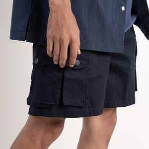 Pockets Shorts - navy