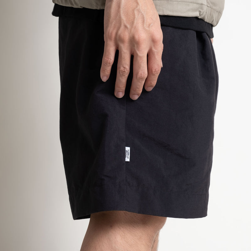 Pleated Shorts - Black