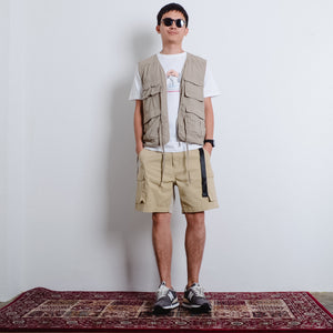Field Pockets Shorts - Beige