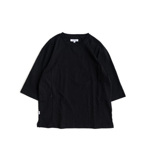 Zipped Pockets Tee - Black