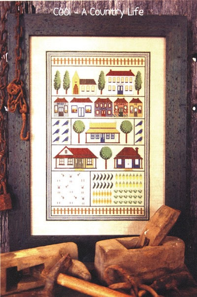 A Country Life Cross Stitch