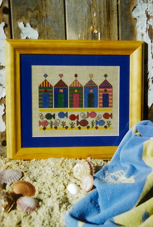 Down At The Beach Cross Stitch