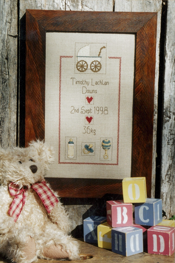 Birth Sampler Cross Stitch