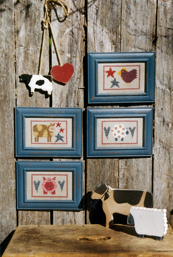 Farmyard Friends Cross Stitch