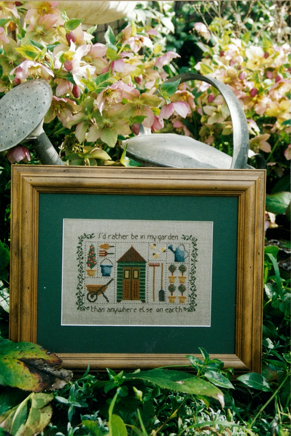 The Potting Shed Cross Stitch