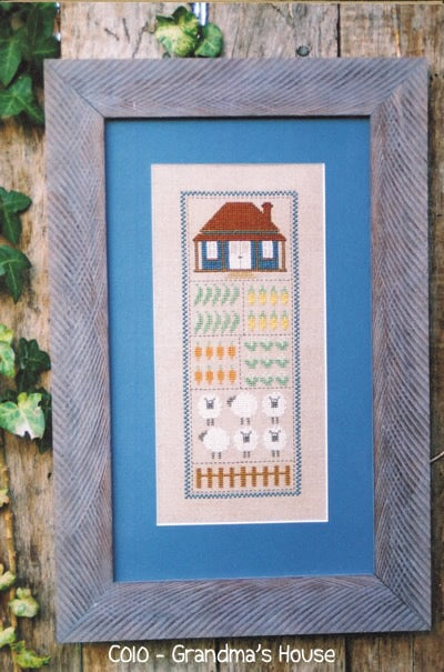 Grandma's House Cross Stitch