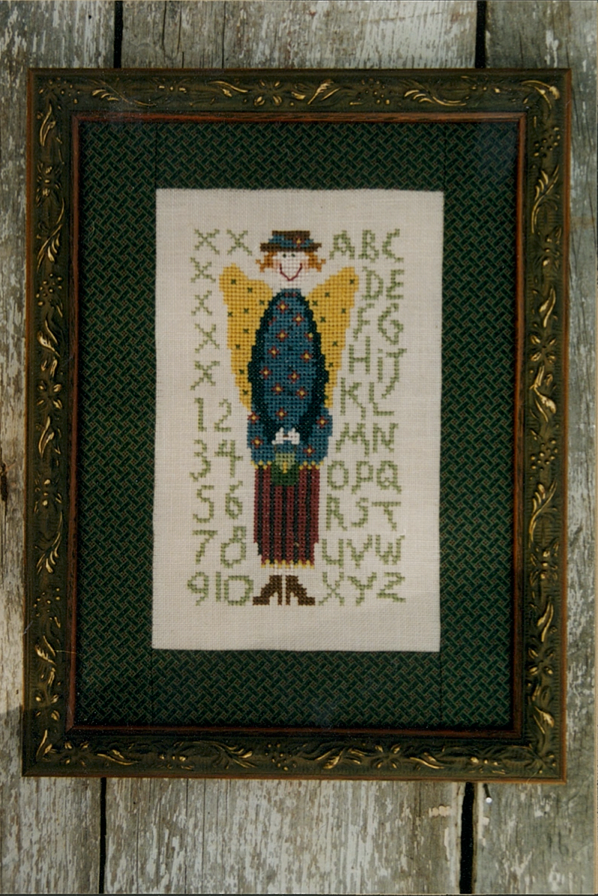 Alphabet Angel Cross Stitch