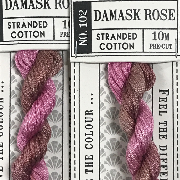 Cottage Garden Threads - Damask Rose