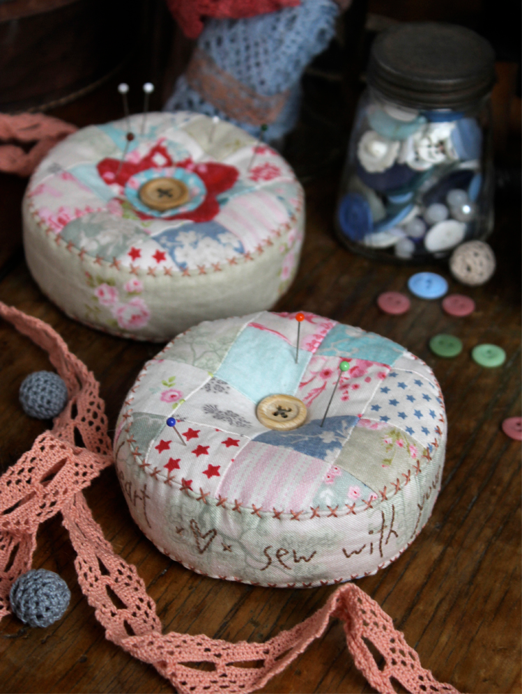 Heart and Soul Pincushion