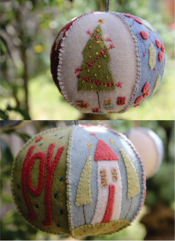 Joyful Christmas Bauble