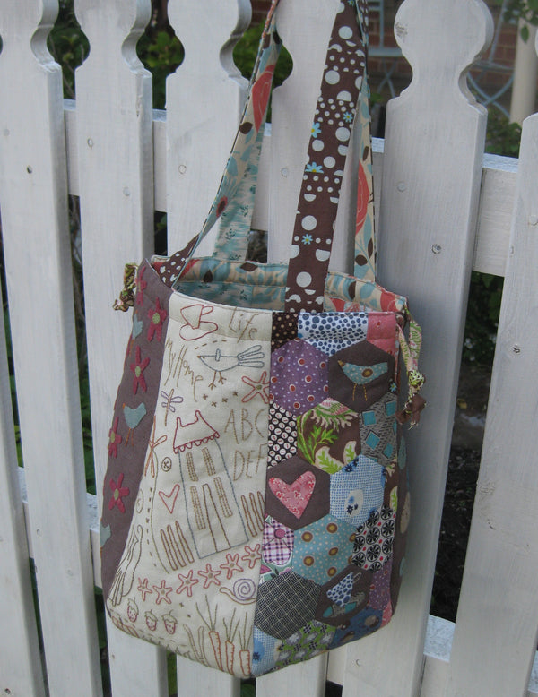 Home Sewn Sampler Bag