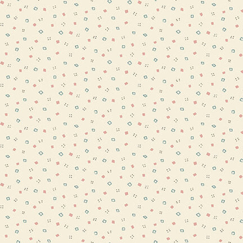 Tealicious - Q2415-33_CREAM - Mini Spots And Squares