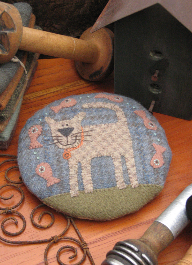 Claude the Cat Pincushion