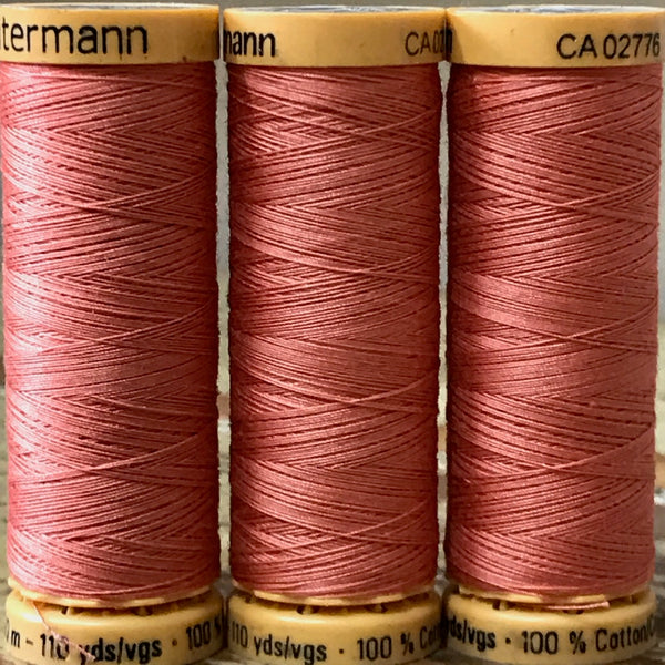 Gutermann - 2045 - Salmon Cotton Thread