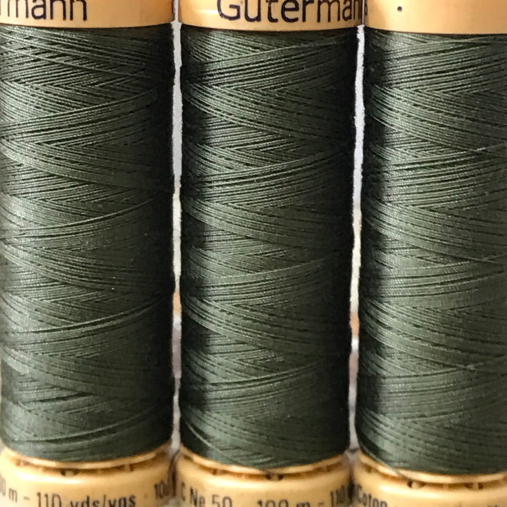 Gutermann - 424 - Olive Cotton Thread