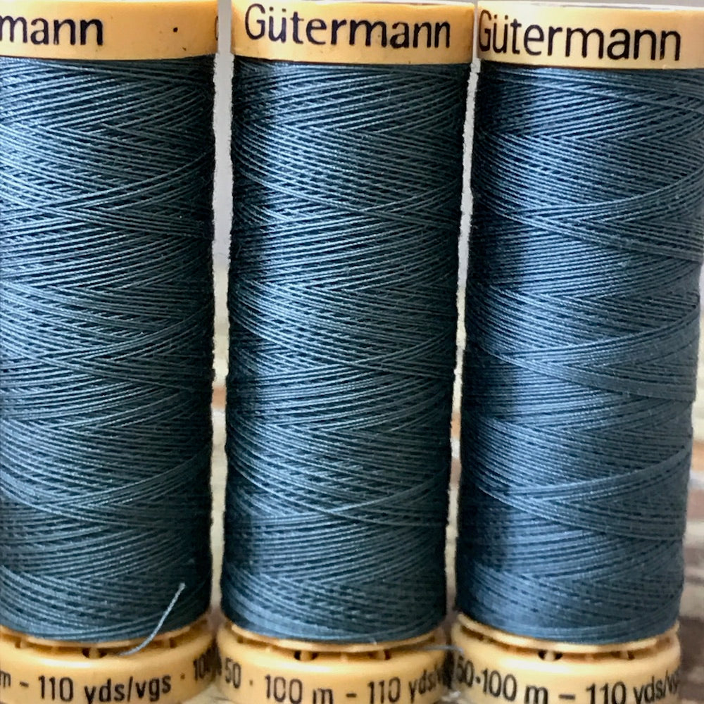 Gutermann - 7414 - Ocean Cotton Thread