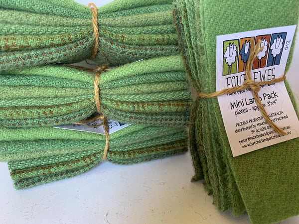 Woven Wool - Bowling Green Mini Lamb Pack