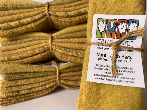 Woven Wool - Buttercup Mini Lamb Pack