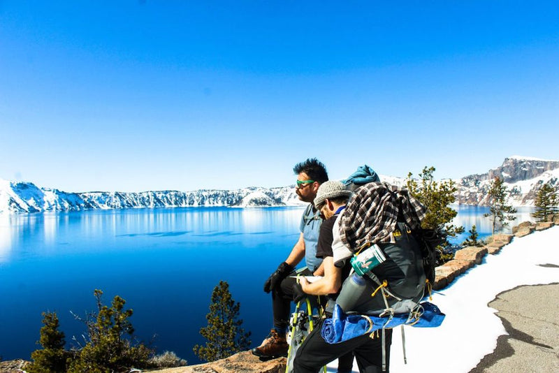 Crater Lake in Winter: Overnight Snowshoe Camping
