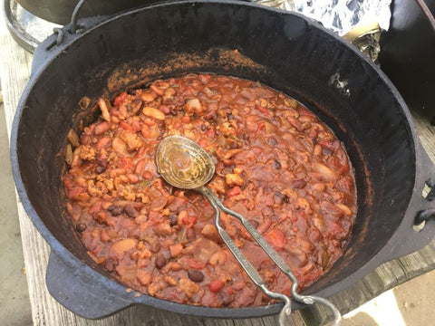 dutch oven and beans recipe