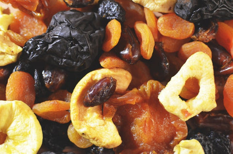 pile of dried fruit