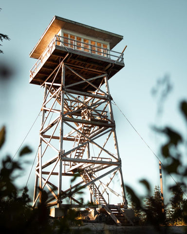 fire tower camping
