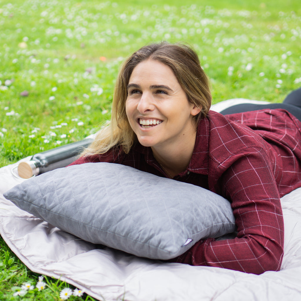 LoftLite Compressible Foam Camping Pillow