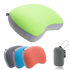 Ultralight Inflatable Camping & Backpacking Pillow (Green)