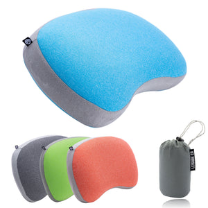 Ultralight Inflatable Camping & Backpacking Pillow (Blue)