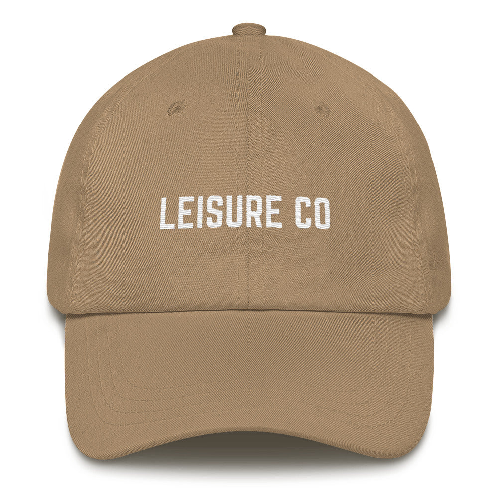 Unstructured Type Logo Hat
