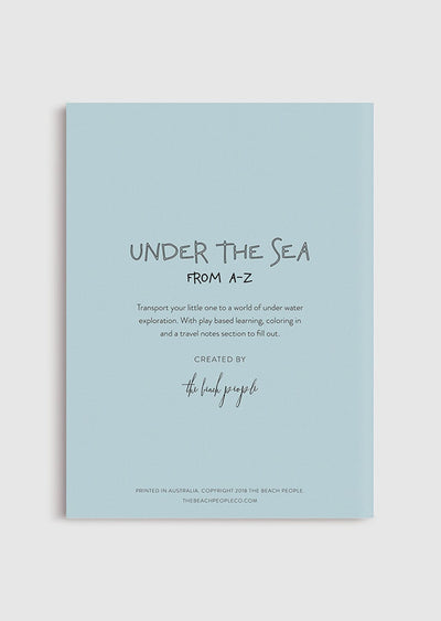 Coloring Book - Under the Sea from A-Z