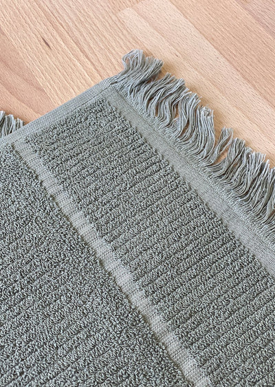 Luxe Bath Mat - Dusty Green - (Seconds)
