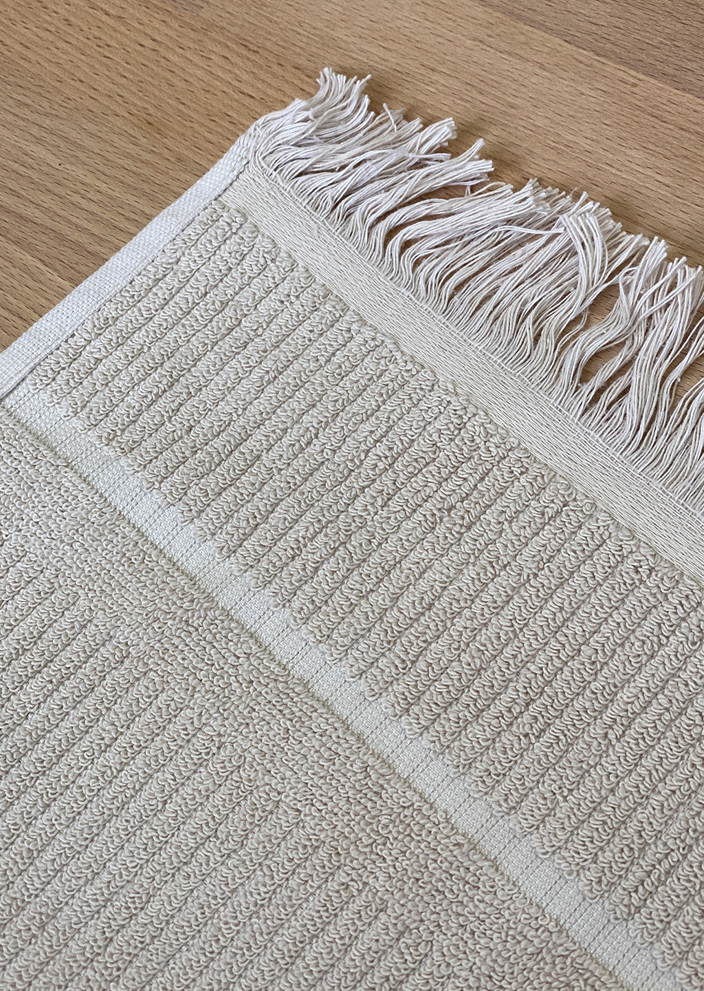 Luxe Bath Mat - Sand - (Seconds)