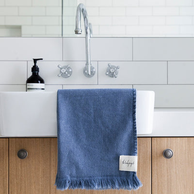 Stonewash hand towels - The Beach People