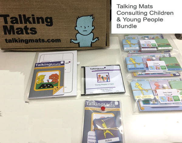 Talking Mats - Consulting Children & Young People - Bundle
